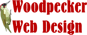 Woodpecker Web Design Logo